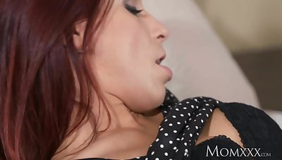 MOM Hot and horny Czech redhead milf next door
