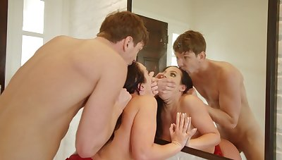 Heavy ass mom endures step son's dick in really rough XXX scenes