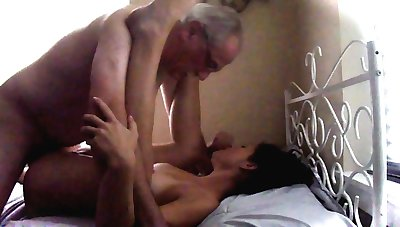 Navea well-fucked on a twin abut on