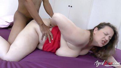 AgedLovE Busty British Mature Enjoys Hardcore Sex