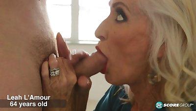 Leah L'Amour does it again! - 60PlusMilfs