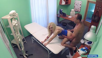 Mean blonde fucked relating to the ass and pussy