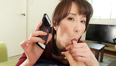 Reiko Sawamura in Reiko Sawamura Cheating Wife Calls Me For Sex Accoutrement 1 - WAAPVR