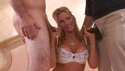 Emma Starr Fucks In Interracial Triplet Orgy