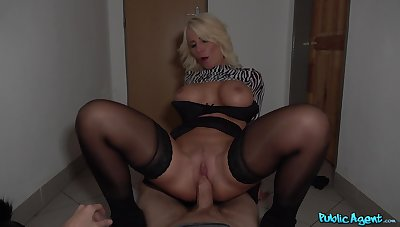 Blonde MILF Tiffany Rousso gets talked into hurtful deeds