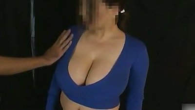 My wife loves milking her oustandingly breasts with an increment of her tits are ergo soft with an increment of delicious