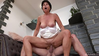 Petra is a lady that is always with the mood to get fucked hard