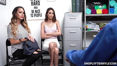 Supermarket anchor fucks sexy mature mommy and the brush adult stepdaughter