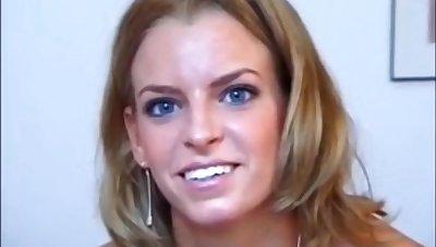 Lilou Casting - hot smiley babe porn movie