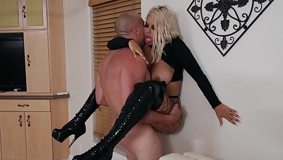 Angry sex brings widely the best in bodacious MILF Bridgette B.