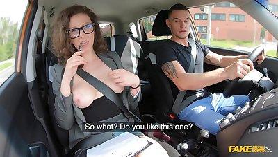 Command Driving Cram - MILF Instructor Fucks Her Student 1 - Max Dior